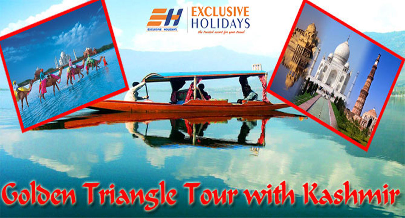 Kashmir Golden Triangle Tour