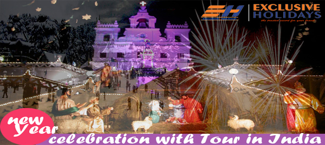 New year celebration with Tour in India